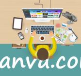 Canva — сервис для создания графического дизайна.