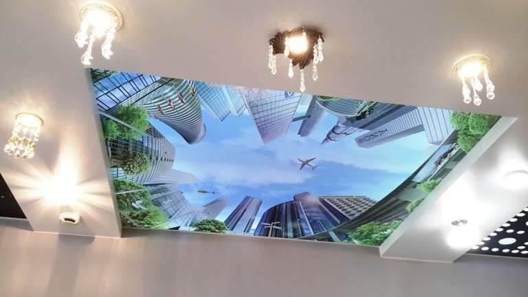 Что такое натяжной потолок по простому