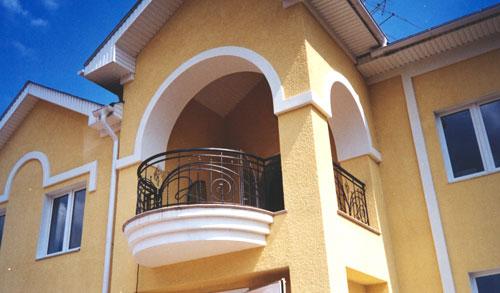 Кованые балконы заказ
