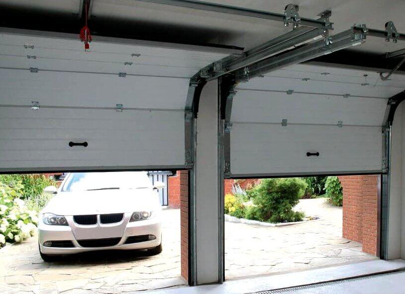 Подъемные автоматические гаражные ворота